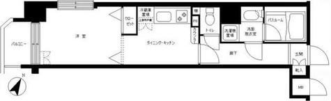 フェニックス幡ヶ谷弐番館 / 201 部屋画像1