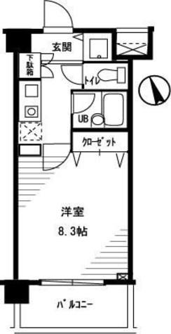 シティベース桜丘 / 3階 部屋画像1