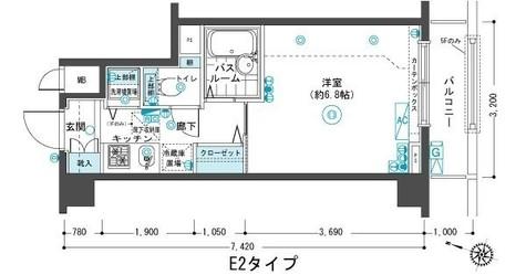フェニックス目黒弐番館 / 503 部屋画像1