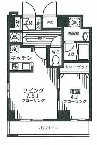 クローバーステイ秋葉原 / 7階 部屋画像1