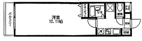 ル・パオン・根津 / 104 部屋画像1