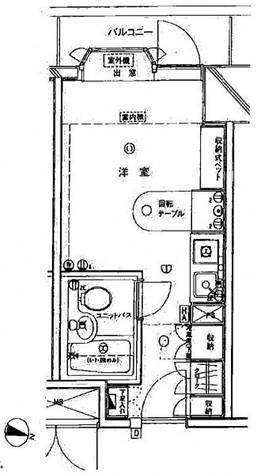 インペリアル南麻布コート&サテライト / 2階 部屋画像1