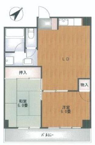 目黒パークスクエア / 4階 部屋画像1