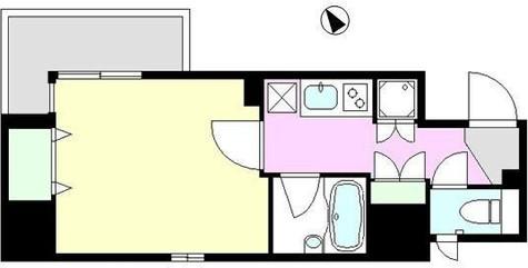 KWレジデンス新川Ⅱ / 13階 部屋画像1
