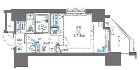 ZOOM川崎Second / 12階 部屋画像1
