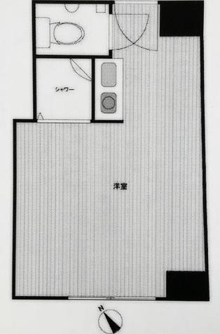 赤坂レジデンシャルホテル / 4階 部屋画像1