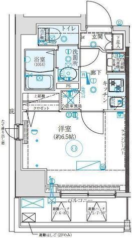 クレイシア西横浜 / 1002 部屋画像1