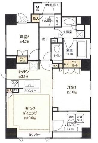 クラッシィハウス本郷コンフォルテ / 6階 部屋画像1