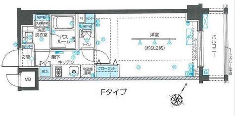ZOOM目黒不動前 / 206 部屋画像1