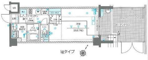ZOOM目黒不動前 / 1階 部屋画像1