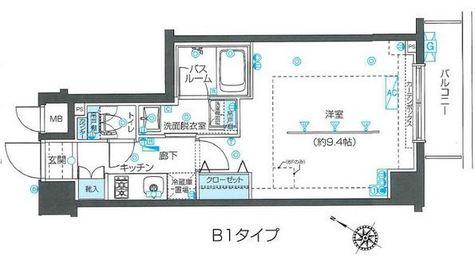 ZOOM目黒不動前 / 502 部屋画像1