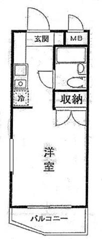 アートイン八王子 / 2階 部屋画像1