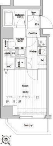プレミアムキューブ関内 / 2階 部屋画像1