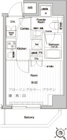 プレミアムキューブ関内 / 204 部屋画像1