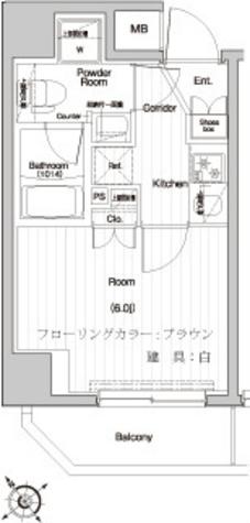 プレミアムキューブ関内 / 4階 部屋画像1