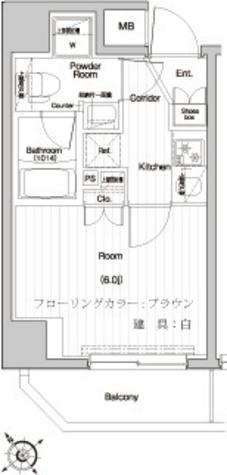 プレミアムキューブ関内 / 501 部屋画像1