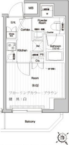 プレミアムキューブ関内 / 304 部屋画像1