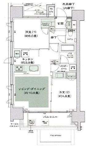 セントラルレジデンス御茶ノ水ヒルトップ / 2階 部屋画像1