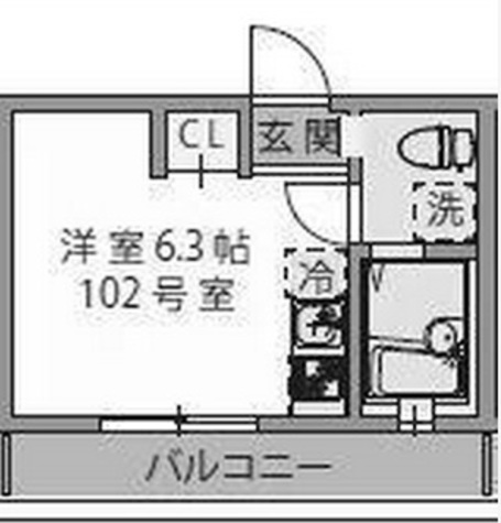 グランディール妙蓮寺 / 1階 部屋画像1