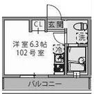 グランディール妙蓮寺 / 102 部屋画像1