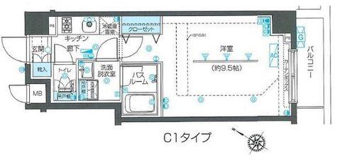 ZOOM目黒不動前 / 203 部屋画像1