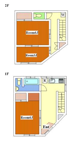 洗足池 6分一戸建て / 1 部屋画像1