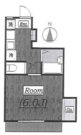 レジデンス自由が丘Ⅲ (自由が丘2) / 2階 部屋画像1