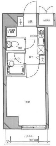 ヴェルヒルズ芝浦 / 6 Floor 部屋画像1