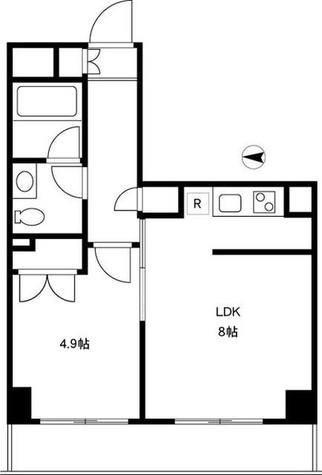 YOTSUYA DUPLEX D-R / 5階 部屋画像1