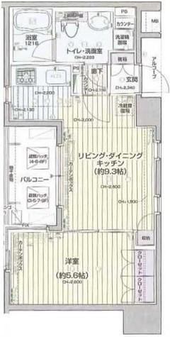 パレステュディオ新宿御苑 / 9階 部屋画像1