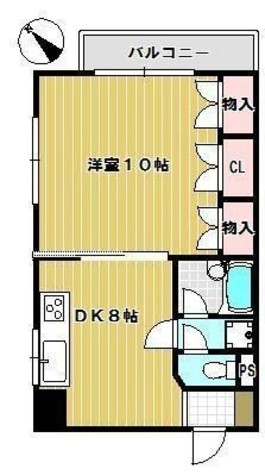 プラッツ幡ヶ谷 / 303 部屋画像1