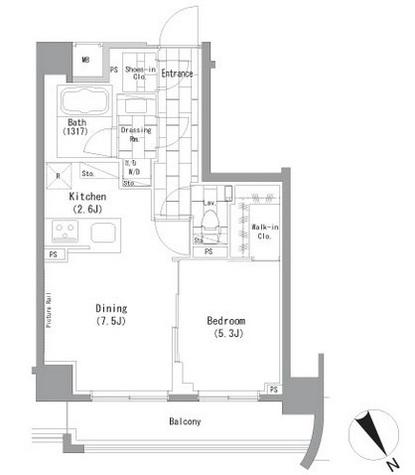 ザ・パークハビオ横浜山手 / 5階 部屋画像1