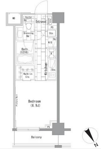 ザ・パークハビオ横浜山手 / 3階 部屋画像1