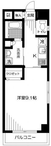ラミアール・U / 303 部屋画像1