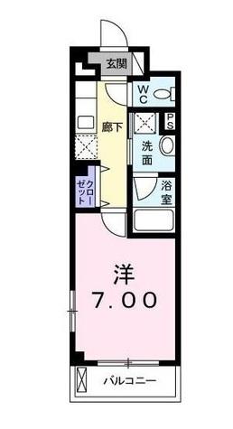 カーサイリーデNISHINO / 3階 部屋画像1