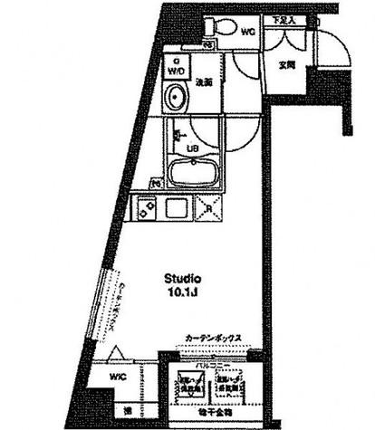 コンフォリア銀座EAST / 608 部屋画像1