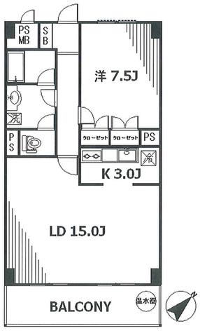 シャトレ代官山ANNEX / 3階 部屋画像1