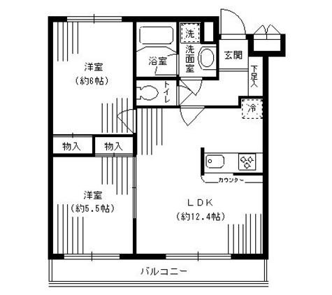 ルミエール妙蓮寺Ⅱ / 4階 部屋画像1