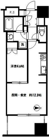 富久クロスコンフォートタワー / 613 部屋画像1