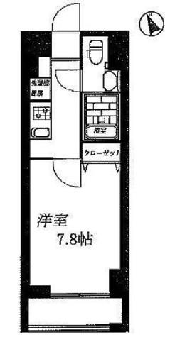 グランフォース横浜関内 / 8階 部屋画像1