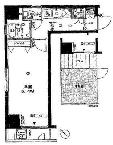 プレール日本橋弐番館 / 1階 部屋画像1
