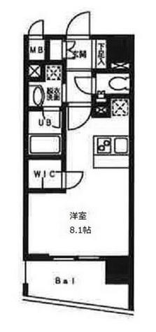 ディアレンス横濱沢渡 / 103 部屋画像1