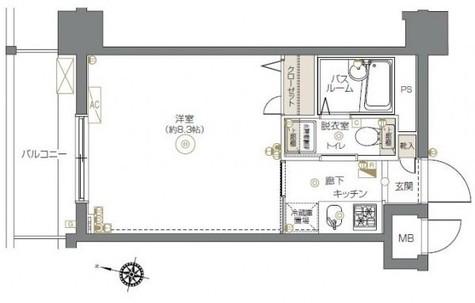 エルミタージュ横濱阪東橋 / 3階 部屋画像1
