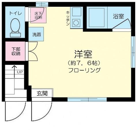 MiraiⅢ祐天寺(ミライスリーユウテンジ) / 1階 部屋画像1