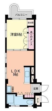 ウエーラーマンション / 301 部屋画像1