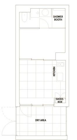 コートモデリア六本木 / -1階 部屋画像1