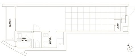 コートモデリア六本木 / 202 部屋画像1