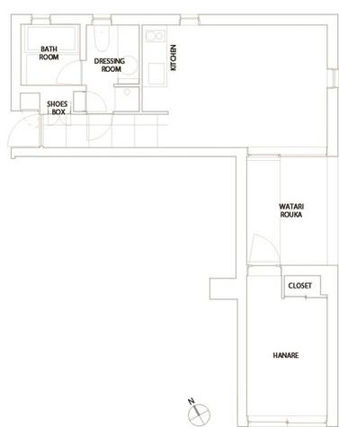 コートモデリア六本木 / 2階 部屋画像1