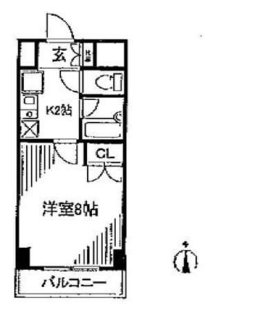 フォレシティ秋葉原 / 9階 部屋画像1