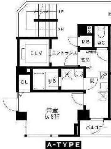 シモメハイツ / 4階 部屋画像1